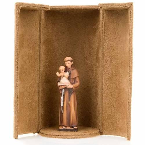 Jesus and saints bijoux statue with niche s2