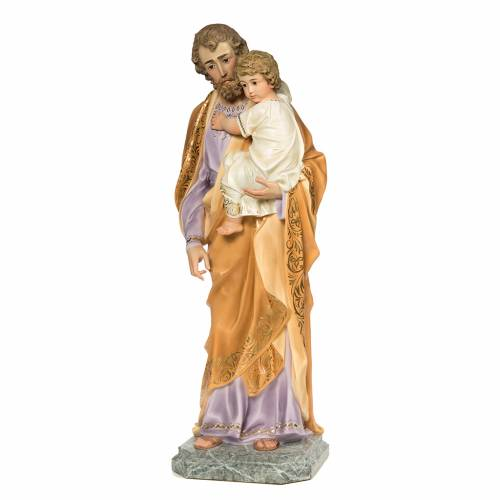 Joseph with Infant Jesus 110cm, fine finish s3