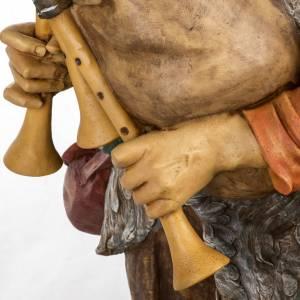 Joueur de musette crèche Fontanini 125 cm résine s5