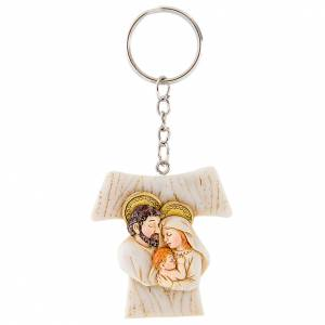 Key Ring Tau Holy Family 4cm s1