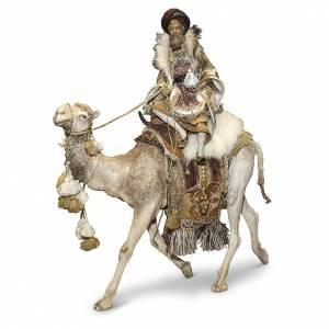 Krippenfiguren von Angela Tripi: König auf Trampeltier 30cm Angela Tripi