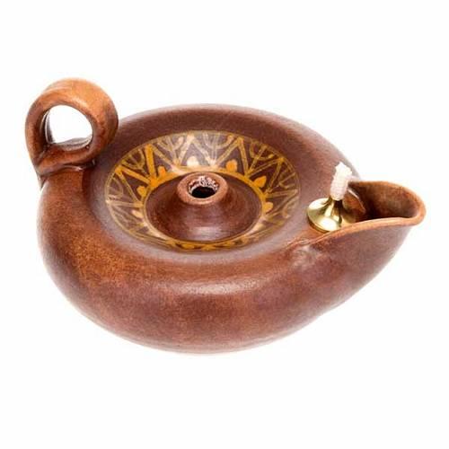 Lampada votiva ceramica s3