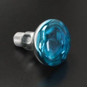 Lampara belén E 27 azul 220v 60w s2