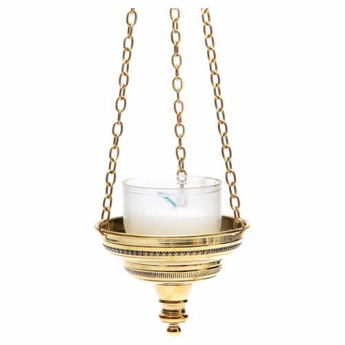 Lampe romaine pour église Moines Bethléem h 6 cm s2