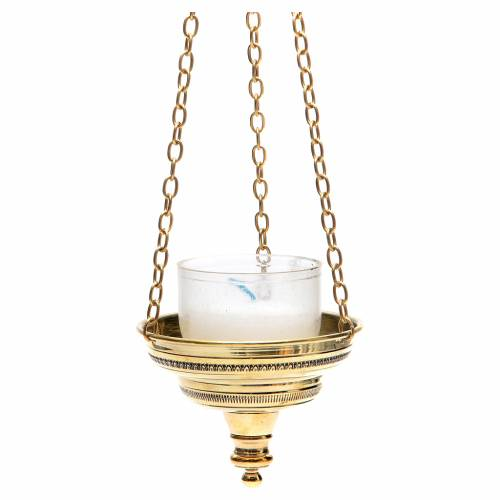 Lanterna romana per chiesa Monaci Bethléem h 6 cm s2