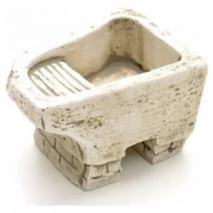 Lavoir en miniature pour crèche s2