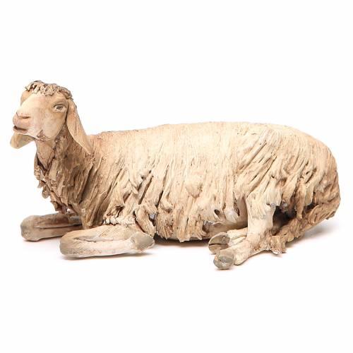 Laying sheep 30cm, Angela Tripi Nativity figurine s2