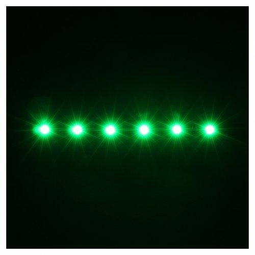 Led a strisce a 6 led cm 0,8x8 cm verde per Frisalight s2