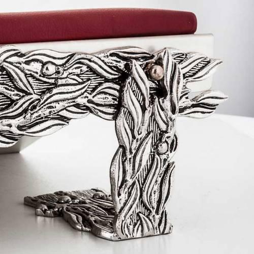 Leggio da mensa cuscinetto decorazioni stilizzate s2