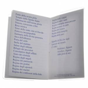 Libretto Santo Rosario 6,5x9,5cm San Giovanni Paolo II s4