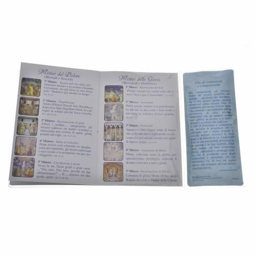 Livre rosaire Saint Jean-Paul II et chapelet IT s3