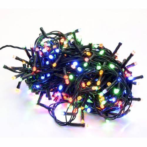 Luce di Natale 300 led multicolor per esterno s1