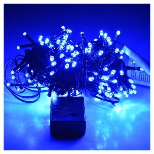 Luces de Navidad, 180 LED azules, interior exterior s2