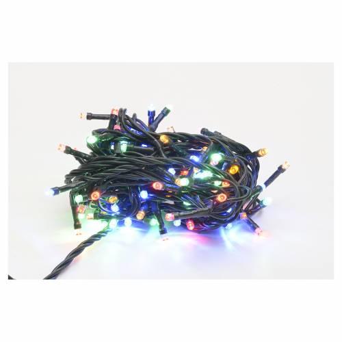 Luci natalizie 100 luci led multicolor per interni s1
