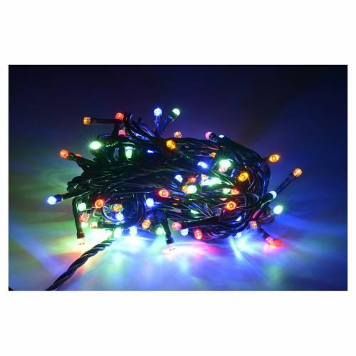 Luci natalizie 100 luci led multicolor per interni s2