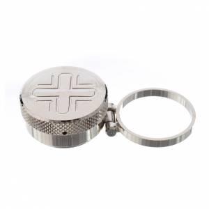 Oleje święte i akcesoria do chrztu: Małe naczynko na olej święty z kółeczkiem