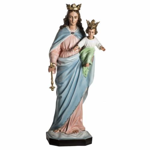 Madonna Ausiliatrice resina 130 cm s1