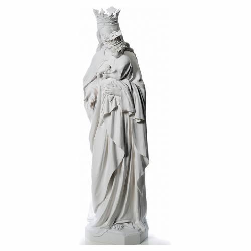 Maria Ausiliatrice cm 180 vetroresina bianca s2