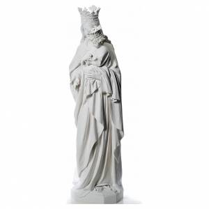 Maria Auxiliatrice 180 cm fibre de verre blanche s2