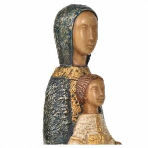 Statue in pietra: Maria porta del cielo