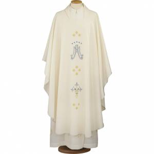 Chasubles: Marian chasuble in polyester
