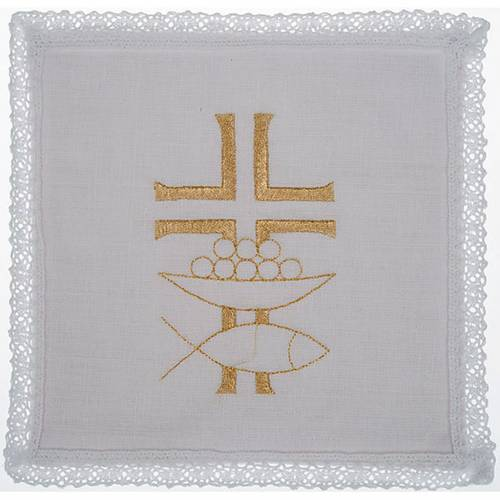 Mass linen set 4 pcs. loaves and fishes s1