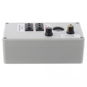 Control units and accessories for Nativity Scene: Mastro Music electric box 2 phases 200W