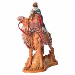 Roi maure sur son chameau crèche Fontanini 19cm s2