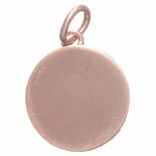 Médaille argent 800 St Antoine de Padoue 1,7 cm s2