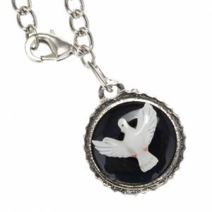 Medalla en metal Espíritu Santo s1