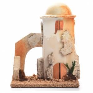 Casas, ambientaciones y tiendas: Minarete: ambientación belén 14x11x8 cm