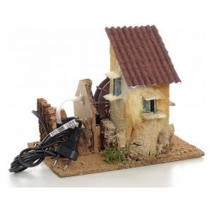Mini moulin à eau électrique 20x15x20 cm s3