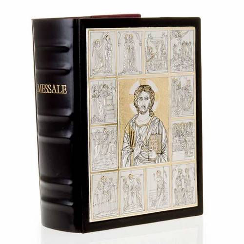 Missal bookcase with double plaque of Christ Pantocrator s7