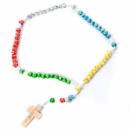 Missionary rosary with flowers 1