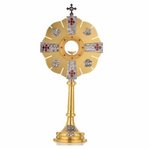 Monstrance Evangelists' symbols s1