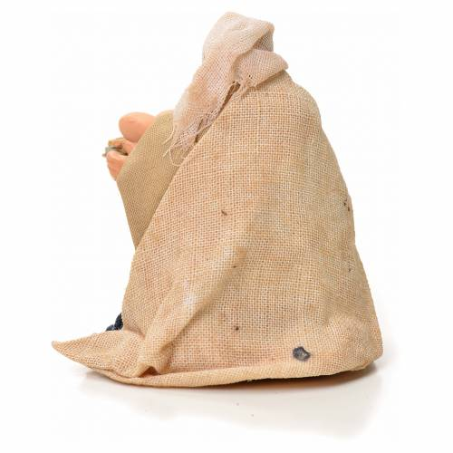 Mujer con cesta de huevos 6cm pesebre napolitano s2