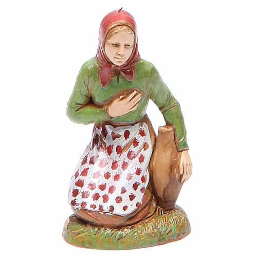 Mujer en adoración 10 cm Moranduzzo estilo clásico s1