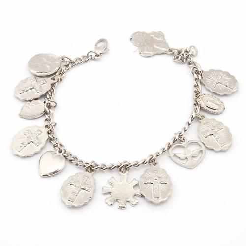 Multi-image medals bracelet s2