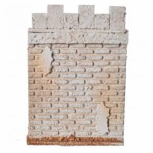 Mur d'enceinte de château en liège crèche s4