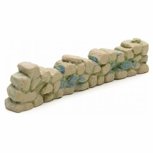Muretto tipo pietra viva, in resina s1