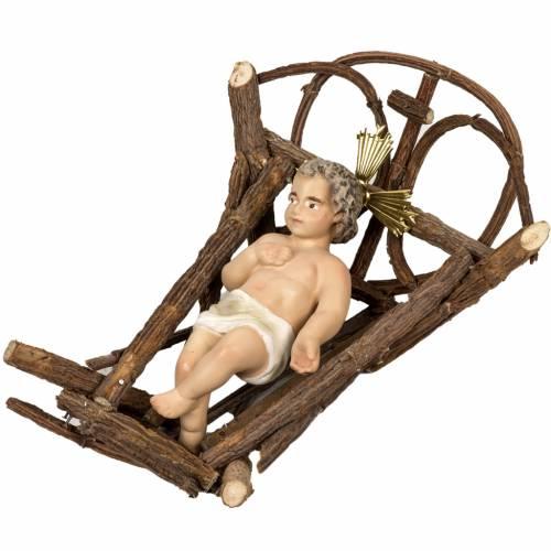 Natividad con buey y asno 40cm s6