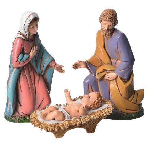 Nativité 12 cm 6 pcs Moranduzzo s2
