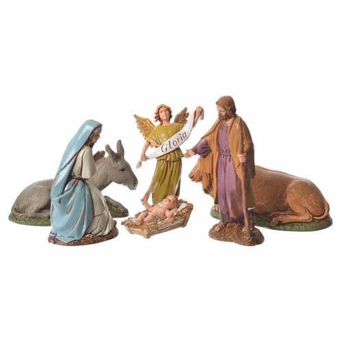 Nativité décor 700 de 10 cm Moranduzzo s1