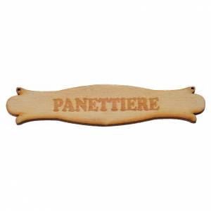 Nativity accessory, wooden sign,