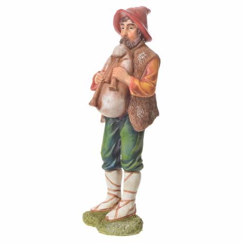 Nativity figurine, bagpiper, 30cm resin s2