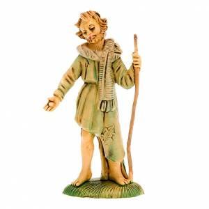 Nativity figurine, beggar with stick, 8 cm s1