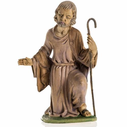 Nativity figurines, Saint Joseph in resin 18cm s1