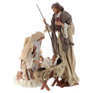 Nativity sets: Nativity, Occitan style 55cm in resin and fabric