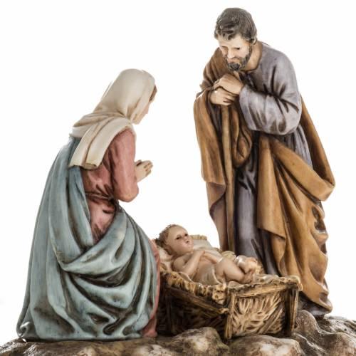 Nativity on base by Landi, 11 cm s2