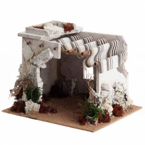 Stables and grottos: Nativity scene accessory, arabic-style hut